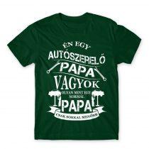 Autószerelő Papa Póló