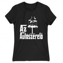 Az autószerelő Női póló