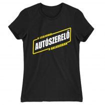A legjobb autószerelő a galaxisban Női póló