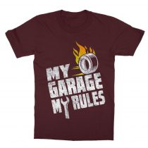 My Garage My Rules Gyerek póló