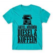 Diesel és Koffein Póló