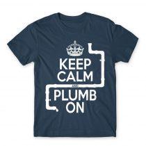 Keep calm and plump Póló