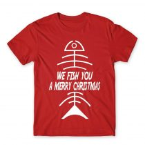 We Fish You - Christmas Póló