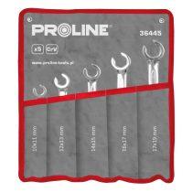 Proline fékcsőkulcs szett - edzett cr-va 10-19mm - 5 db