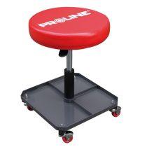 Proline gurulós szerelőszék pneumatikus rugóval - 380x380x575mm