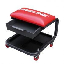 Proline gurulós szerelőszék kihúzható tárolóval - 360x400x340mm