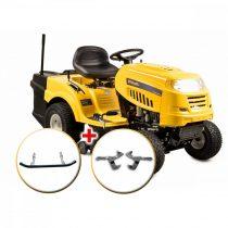 Riwall fűnyíró traktor 92 cm, fűgyűjtővel és hidrosztatikus váltóval PRO RLT 92 H POWER KIT |13AB715E623_kit|