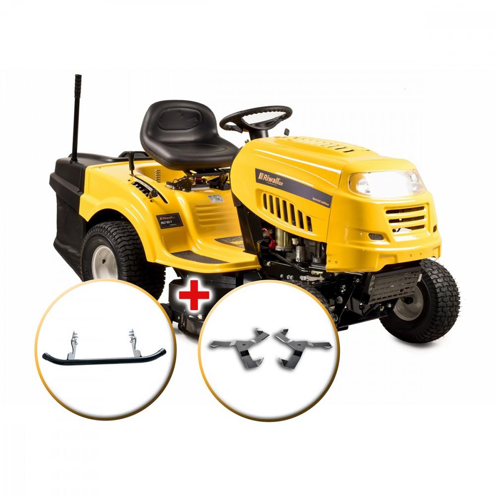 Cseh fűnyíró traktor