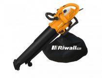 Riwall PRO REBV 3000 elektromos lombszívó/lombfúvó 3000 W motorral