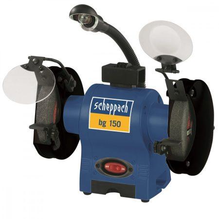 Scheppach bg 150 kettős köszörű pro elektromos 230v |4903104901|