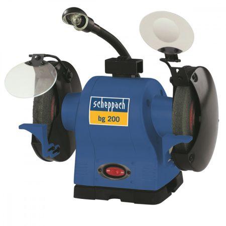 Scheppach bg 200 kettős köszörű pro elektromos 230v |4903105901|