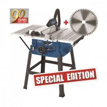 Scheppach HS 100 S Special edition asztali körfűrész + fűrészlap 48 f.