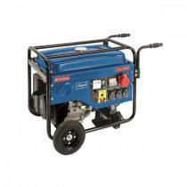 Scheppach SG 7000 5 500 w-os vázszerkezetes áramfejlesztő avr szabályozással |5906210901|