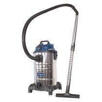 Scheppach ASP 30 ES - ipari porszívó 30 l száraz / nedves porszívózáshoz |5907709901|