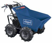 Scheppach DP 3000 - kerekes 4 x 4 meghajtású minidömper mechanikus billenéssel és 300 kg-os terheléssel  |5908802903|