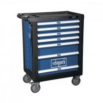 Scheppach TW 1000 Műhelykocsi szerszámokkal, 7 fiókos, 263 db-os