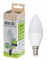 Steck LED gyertya 6W E14, meleg fehér |SRLGY 614M|