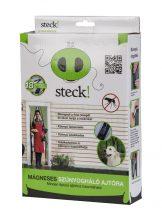 Steck mágneses szúnyogháló ajtóra, antracit, 2100x1000 mm |SRM 100|