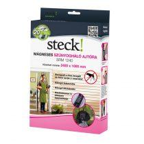 Steck mágneses szúnyogháló ajtóra, antracit, 2400x1000 mm |SRM 1240|
