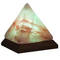 Steck usb himalája hegyi sólámpa, piramis alakú, színváltós