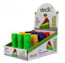 Steck műanyag elemlámpa