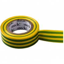 Steck szigetelőszalag, zöld-sárga, 20 m |SZZS 20|