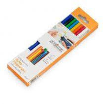 Steinel Ragasztórúd, színes, 10 db, 250 g, 11x250mm|006815|