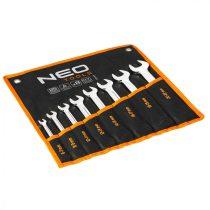 Neo villáskulcs készlet 8db, 8-22mm, din3110