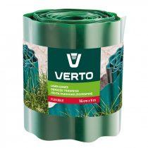 Verto ágyásszegély 15cm, 9m, zöld