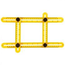 Topex szögmásoló vonalzó, 30x2.5cm / 17.5x2.5cm