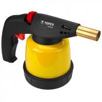 Topex gázforrasztó 190g palackhoz, piezo
