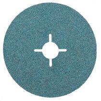 Graphite rostszálas-. fíber-csiszolókorong 3db 125, k80, cirkónium