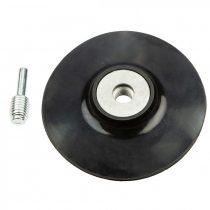 Graphite rugalmas csiszoló tányér 125 mm x m14 + szár