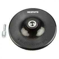Graphite rugalmas csiszoló tányér 150 mm x m14 + szár