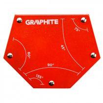 Graphite hegesztőmágnes 111x136x24mm