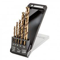 Graphite csigafúró készlet hss-co, 4.0 - 10mm, 5db