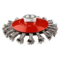 Graphite drótkorong tányér, kúpos sodrott 115mm m14