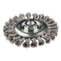 Graphite drótkorong tányér egyenes,sodrott 115mm inox m14