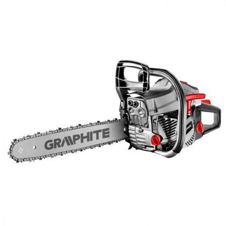 """Graphite láncfűrész benzinmotoros 2 kw (2,7 le), láncvezető 18"""" (458mm)"""