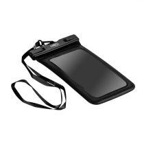 """Neo vízálló telefontok, 19.5 x 11cm, 80g, ipx8 vízállóság, max 6.2"""" képátló, nyakpánt"""
