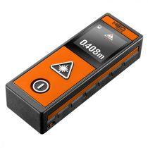 Neo lézeres távolságmérő, hatótáv: 40 m, érintőképernyő