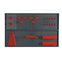 Topex szerszámtartó fal 800x500mm
