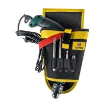Topex szerszám tartó övtáska zsebekkel fúrógéphez |79R415|