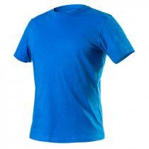 Neo póló, hd+, kék, 100% pamut