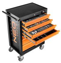 Neo műhelykocsi 7 fiókos, 129db felszereléssel