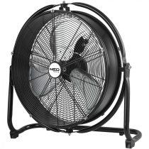 Neo műhely padló ventilátor 100w, átmérő 50 cm, ip44, 3 sebességfokozat, 360 fok, cseppálló