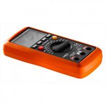 Neo multiméter digitális, ac v, dc v, ac a, dc a, tranziszt., ellenáll., hőmér., dióda, folyt., kapac.