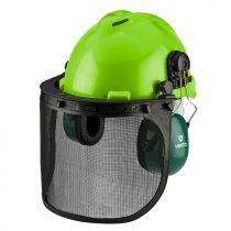 Verto védősisak 3az1-ben, fülvédővel, pajzzsal