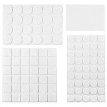 Top Tools bútorcsúsztató filc bastion 92db,fehér