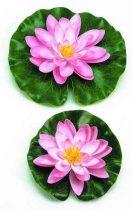 Selyemvirág,tavirózsa 14cm pink